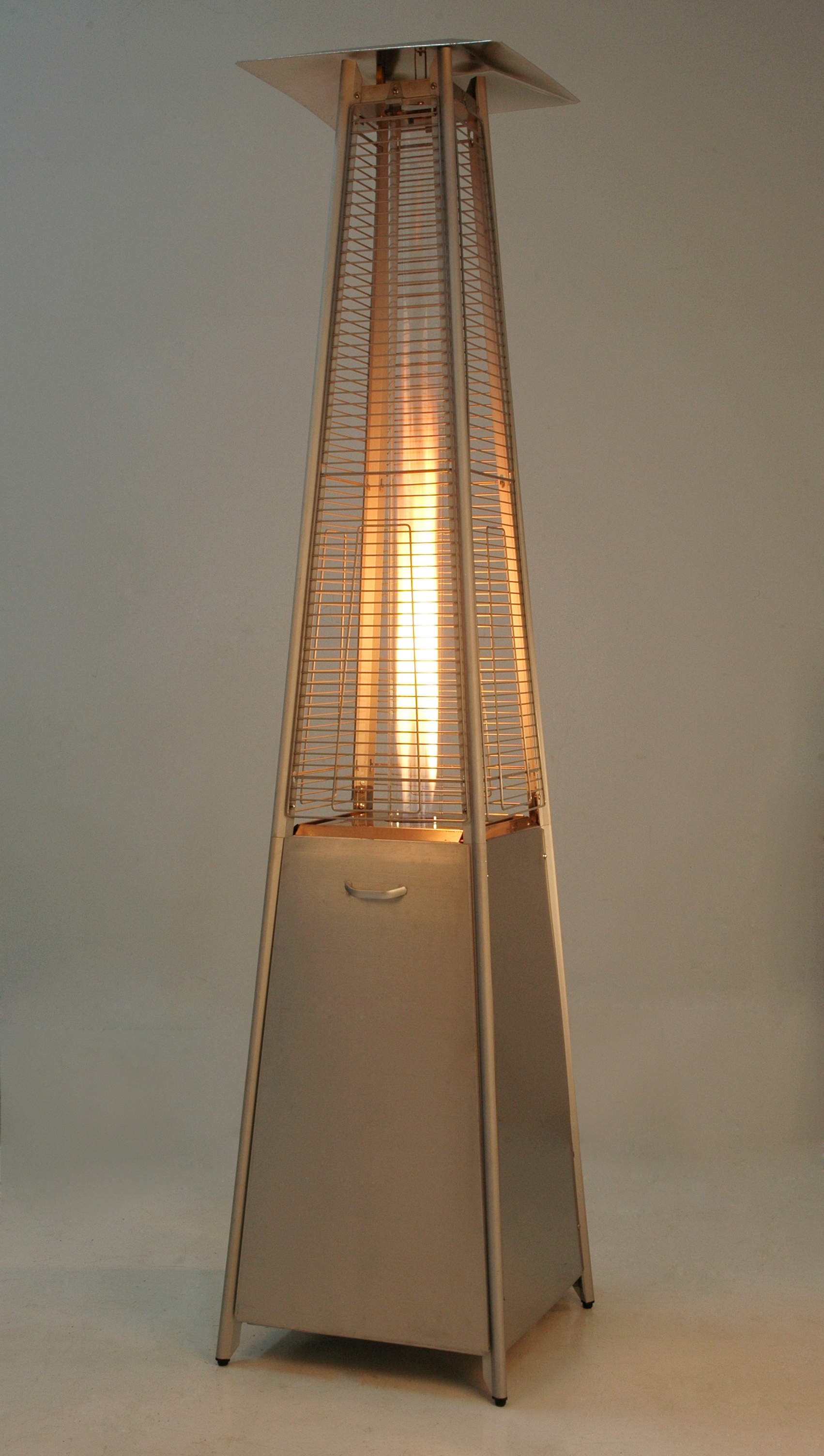 EIFFEL DECO FLAME HEATER RVS LOOK
