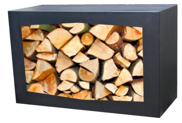 GARDENMAXX WOODBOX BLACK